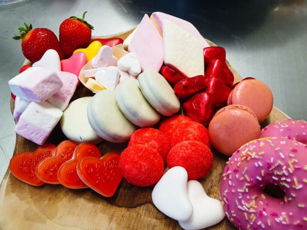 Cateringservice Bolsterbos themaplank Candy Love