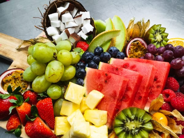 Cateringservice Bolsterbos vers fruit dessertplank