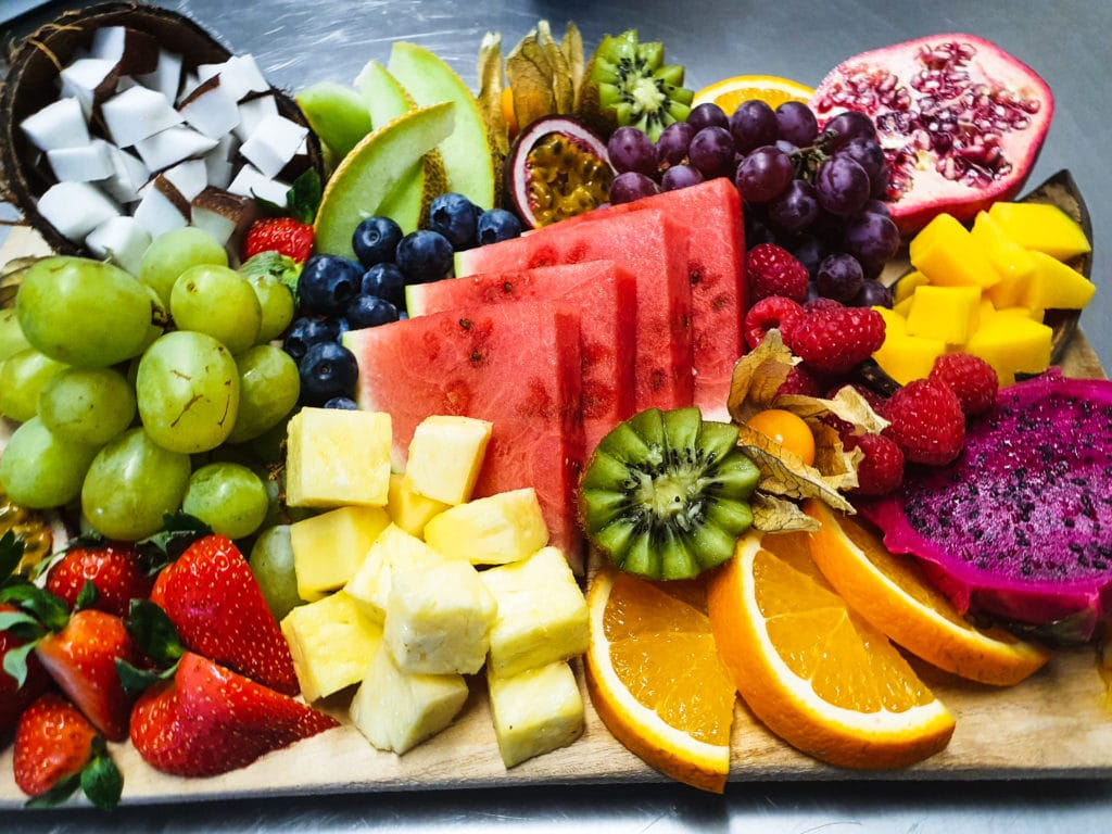 Cateringservice Bolsterbos vers fruit dessertplank_6