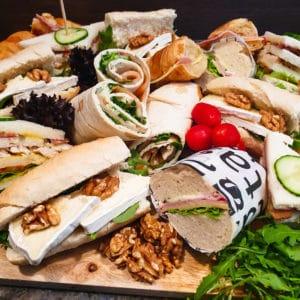Cateringservice Bolsterbos broodjesplank